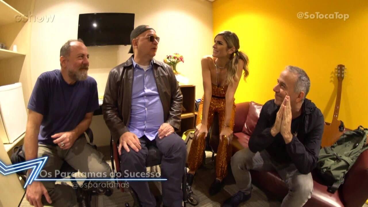 Julia Faria entrevista Os Paralamas do Sucesso