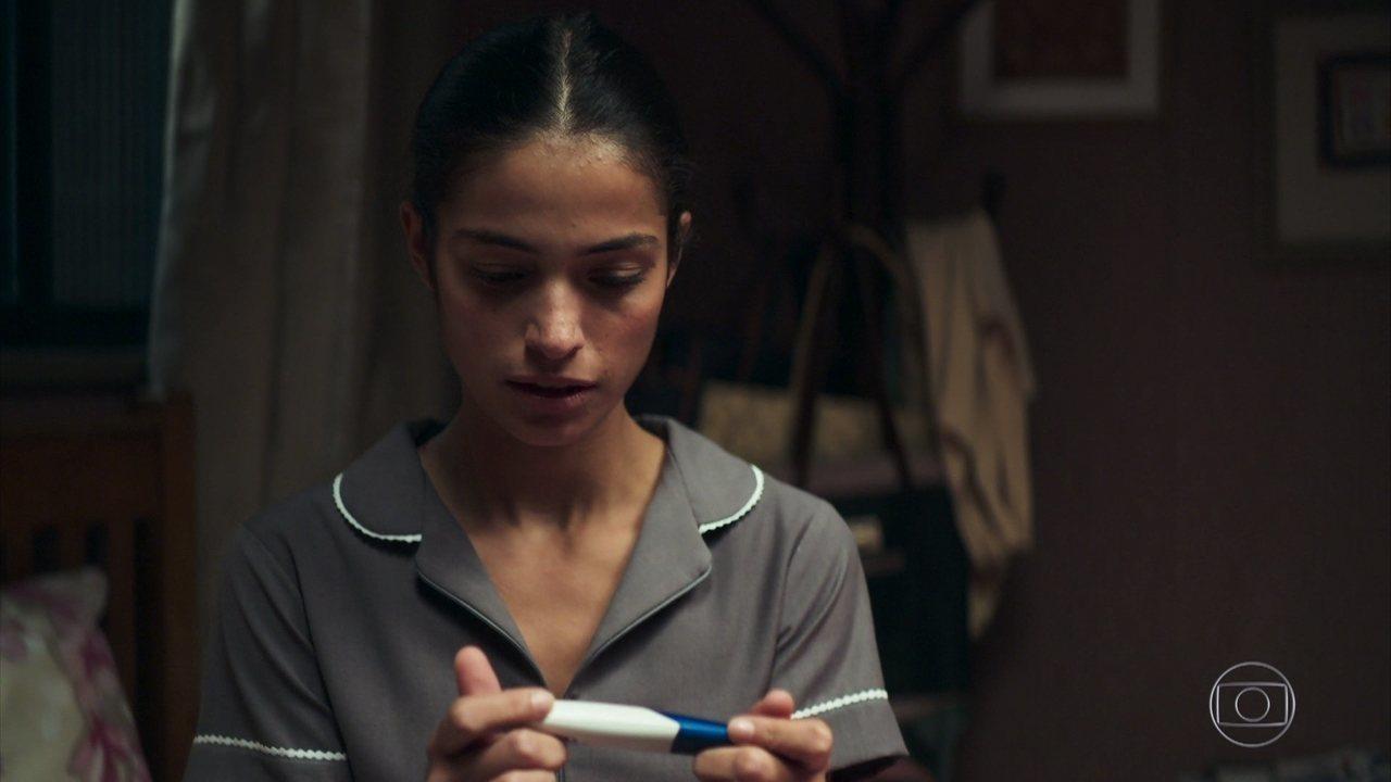 Edilene descobre que está grávida de Otávio