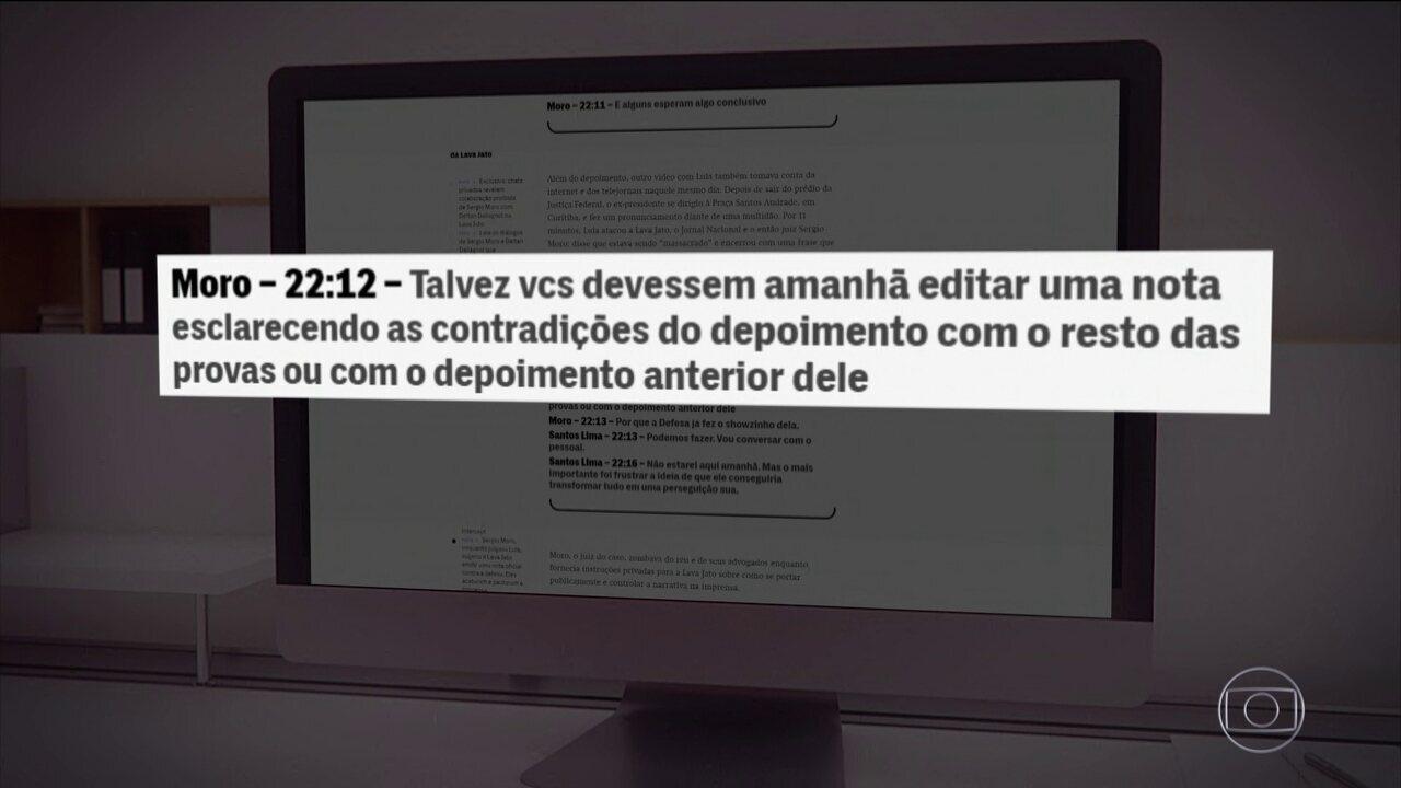 Site Intercept divulga novas mensagens atribuídas a Sérgio Moro