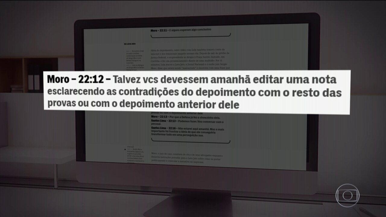 Intercept divulga novas mensagens atribuídas a Moro e procuradores