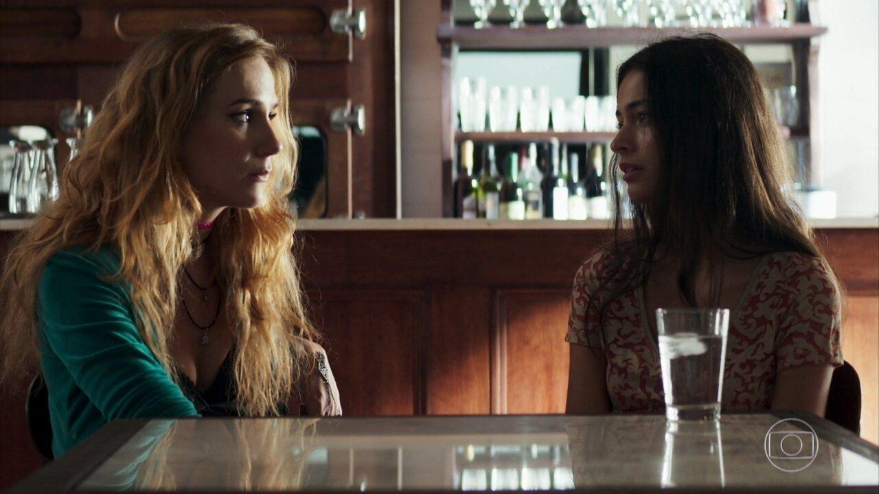 Edilene pede ajuda a Sabrina