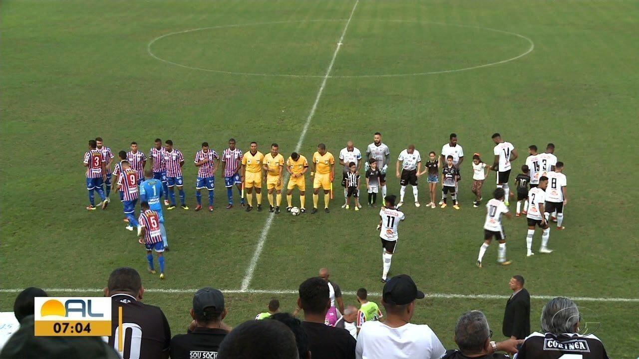ASA vence o Itabaina no Estádio Coracy da Mata Fonseca, em Arapiraca