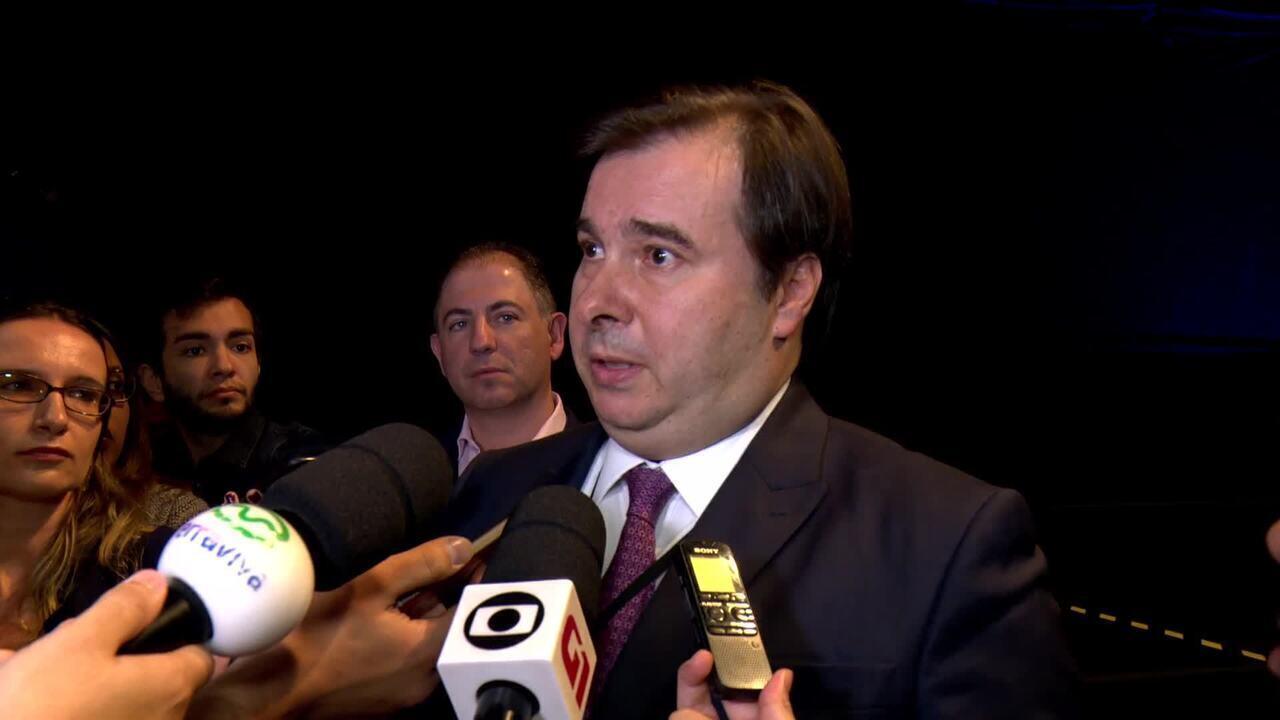 Rodrigo Maia critica forma como Joaquim Levy foi demitido do BNDES