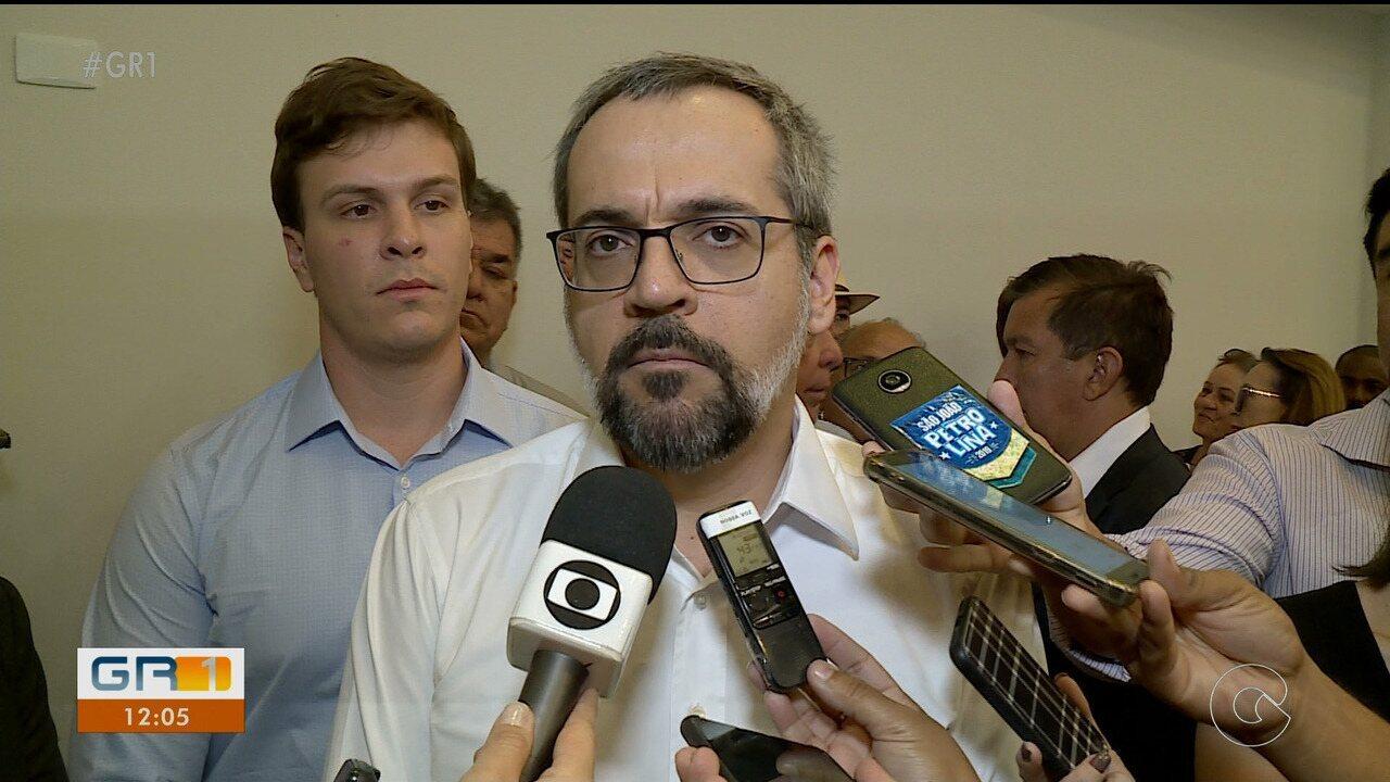 Ministro da educação cumpre agenda em Petrolina