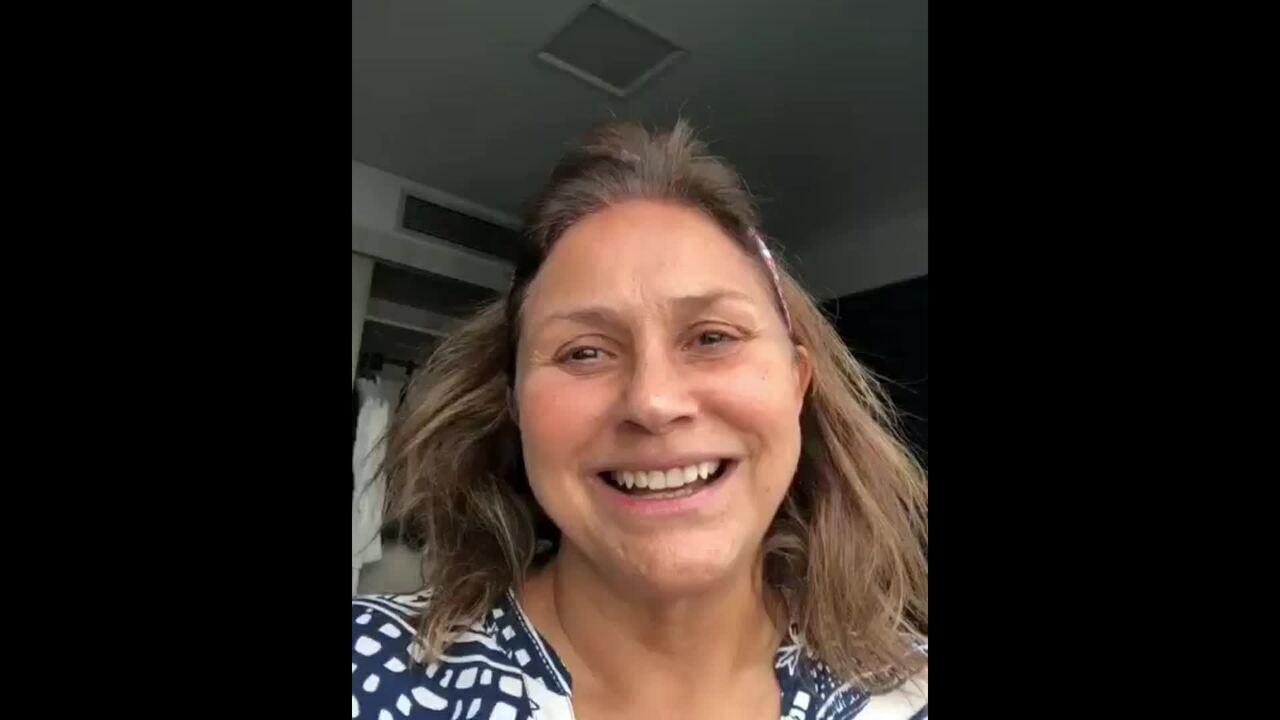 Fafá de Belém agradece homenagem de Solange Almeida no 'Show dos Famosos'