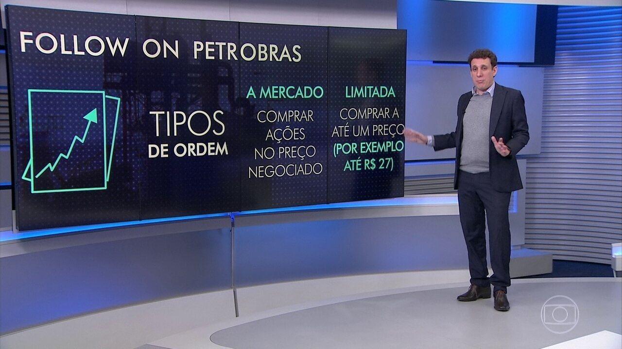 Samy Dana comenta o follow on de ações da Petrobras
