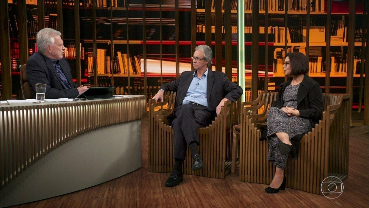 Bial questiona Mozart e Denise sobre a educação básica na Brasil