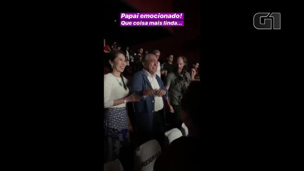 Mauricio de Sousa se emociona após assistir pré-estreia de 'Turma da Mônica – Laços'