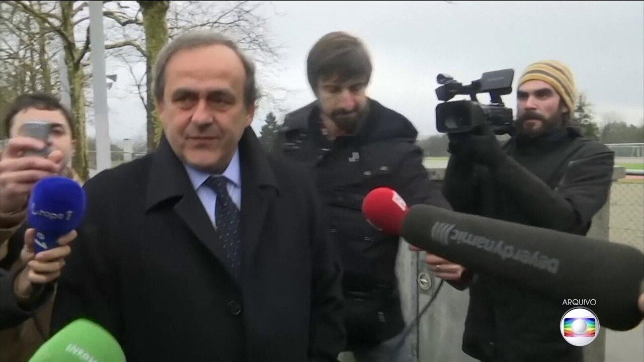 Michel Platini é detido na França