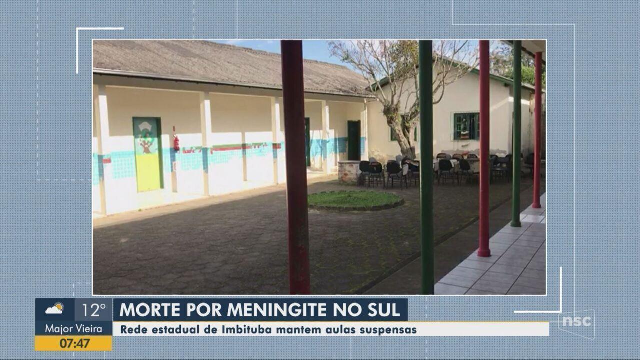 Segundo caso de meningite é confirmado em Imbituba
