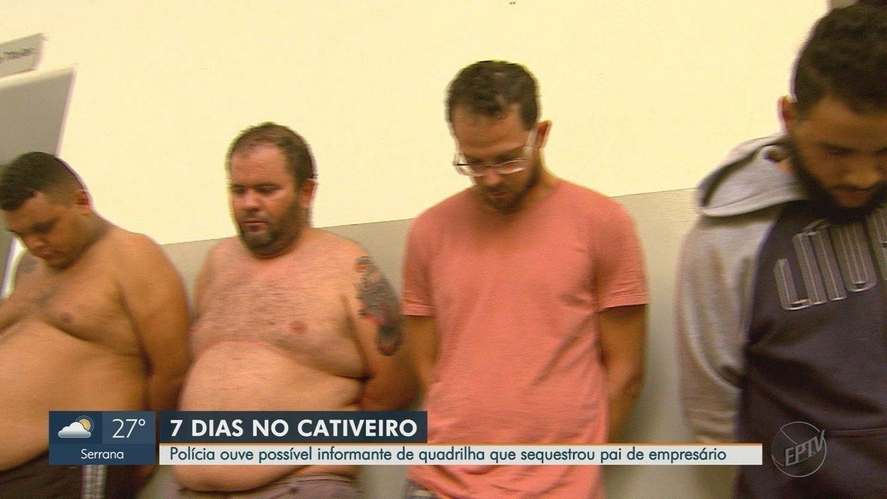 Suspeito de ser informante em sequestro de empresário depõe em Ribeirão Preto