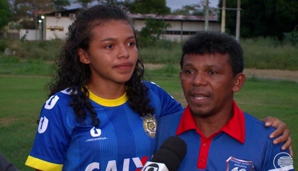 Conheça um verdadeiro fenômeno do futebol feminino piauiense