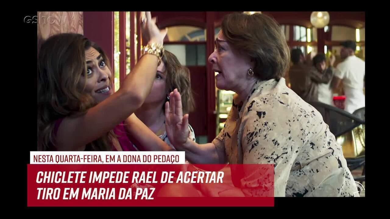 Resumo do dia - 20/06 – Chiclete impede Rael de acertar tiro em Maria da Paz