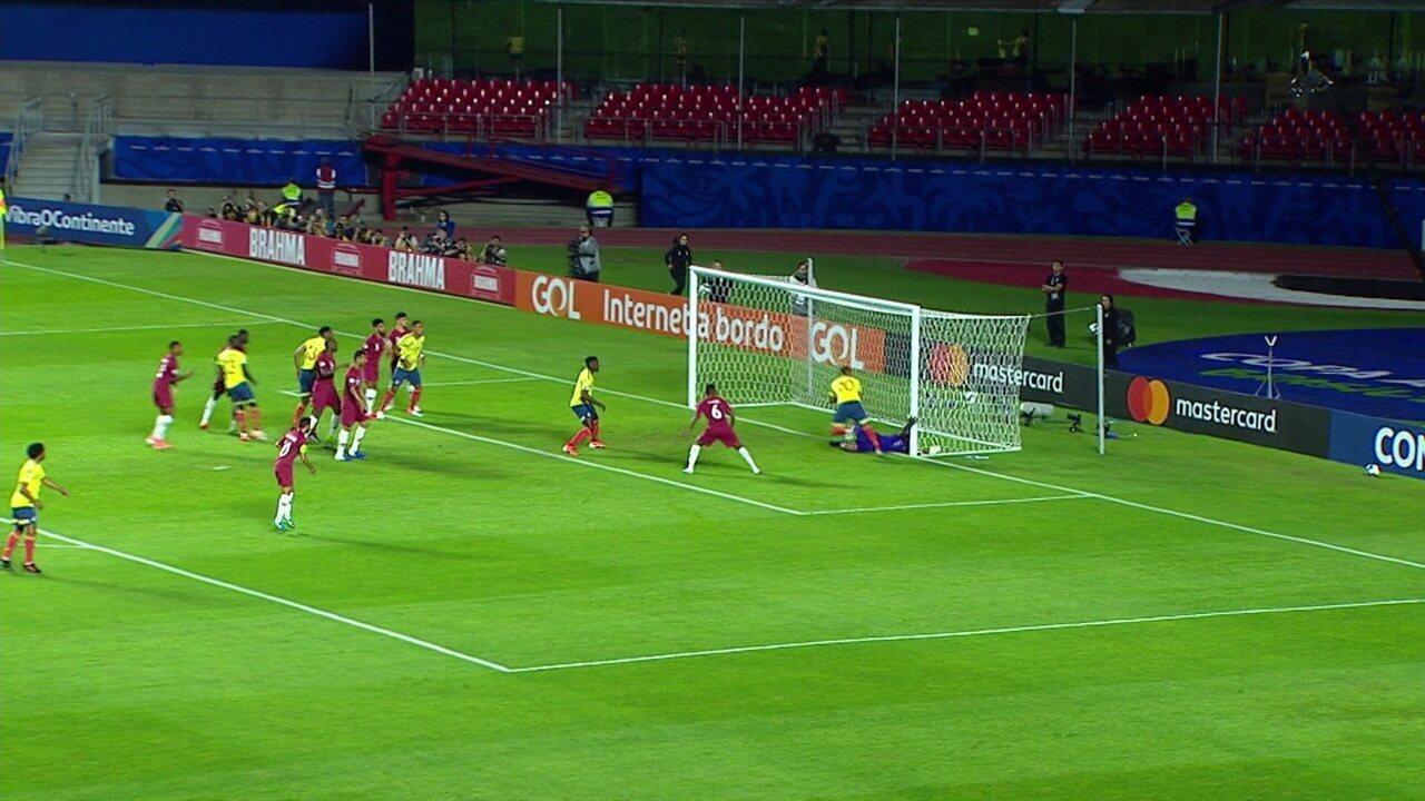 Melhores momentos: Colômbia 1 x 0 Catar pela Copa América
