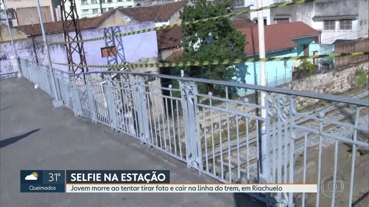 Jovem morre depois de cair da passarela da estação de trem de Riachuelo
