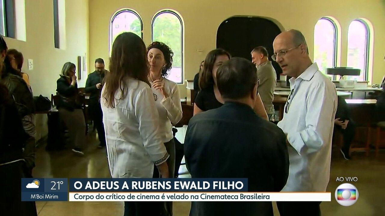 Rubens Ewald Filho é velado em São Paulo