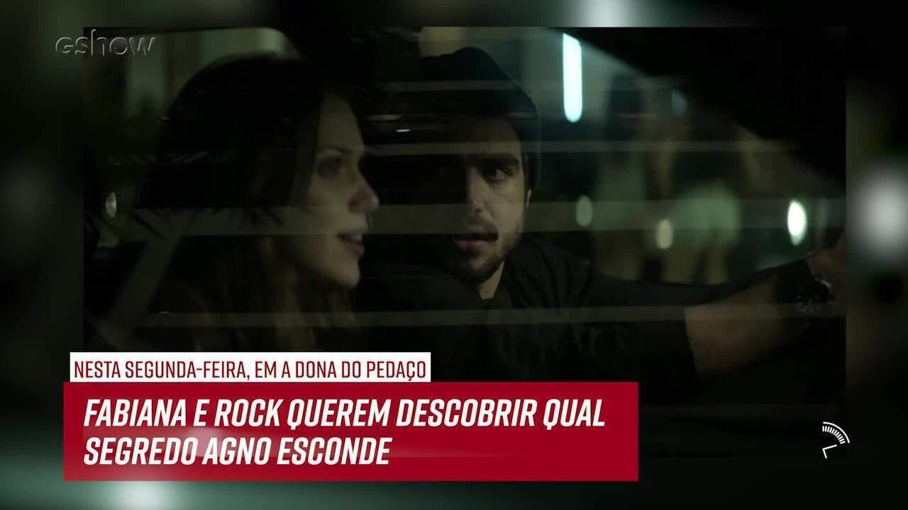 Resumo do dia - 24/06 - Fabiana e Rock querem descobrir qual segredo Agno esconde
