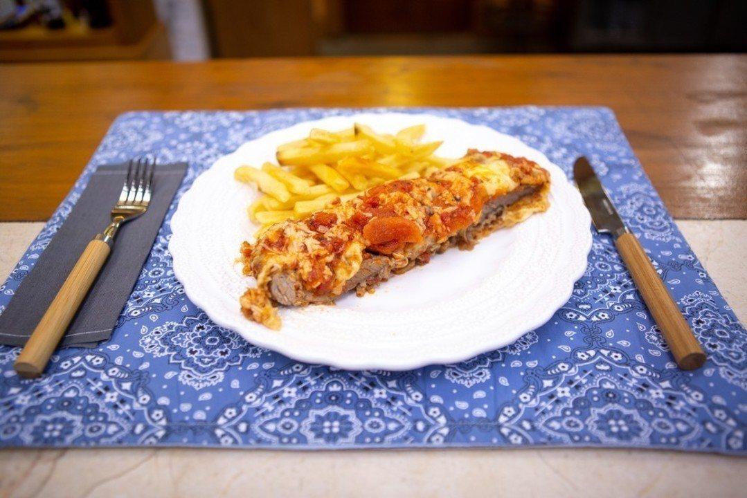 Filé à Parmegiana do Chef Ravioli