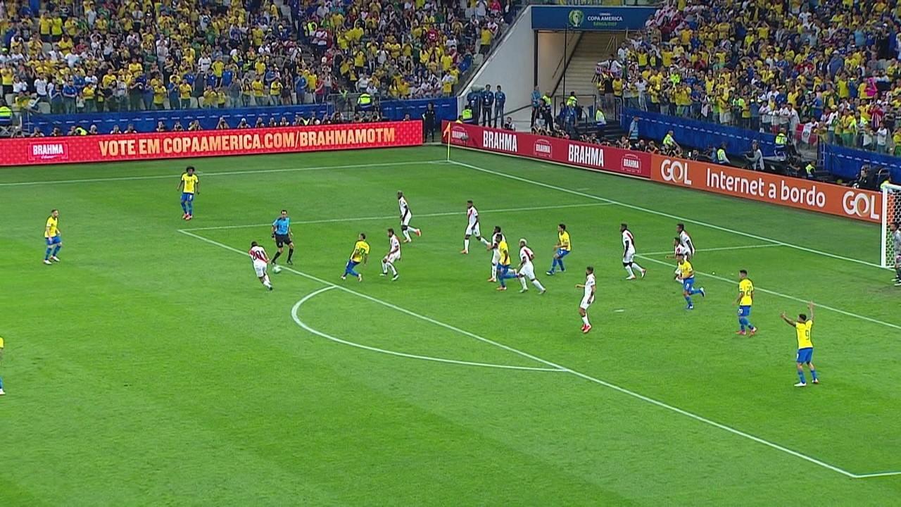 Melhores momentos: Peru 0 x 5 Brasil pela 3ª rodada da fase de grupos da Copa América