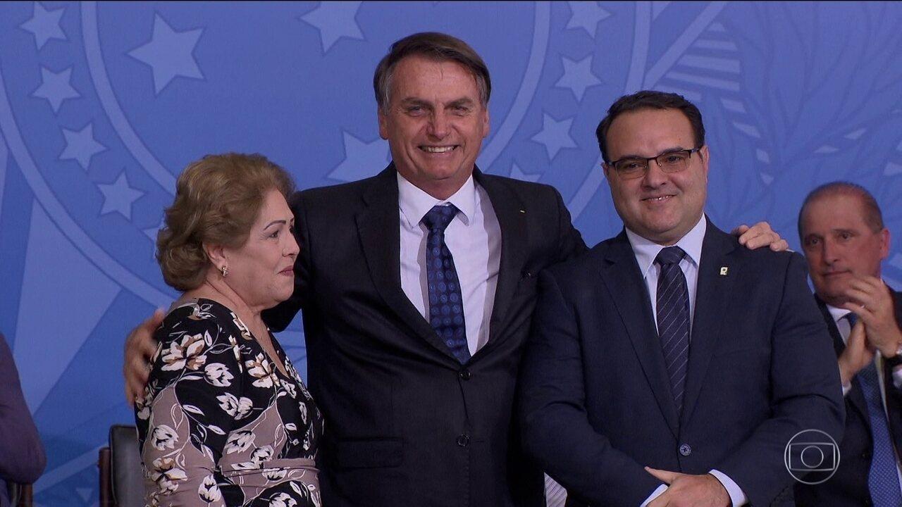 Toma posse novo ministro da Secretaria-Geral da Presidência, Jorge Antônio Oliveira