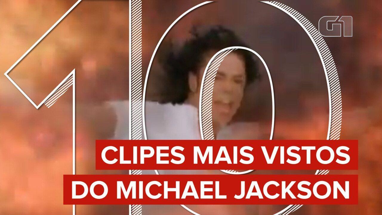 Dança com zumbis e Olodum estão entre os 10 clipes mais vistos de Michael Jackson