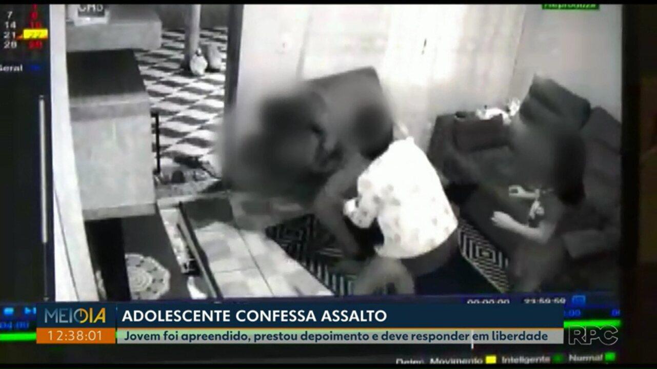 Polícia apreende adolescente suspeito de invadir casa em Telêmaco Borba