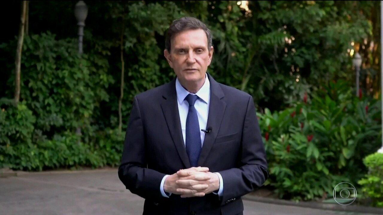 Câmara de Vereadores do Rio rejeita o impeachment do prefeito Marcelo Crivella