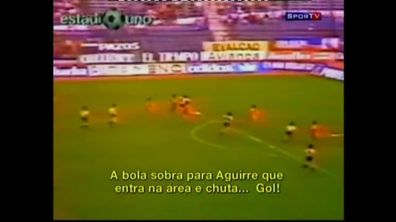 Veja o gol do título do Peñarol na Libertadores de 1987