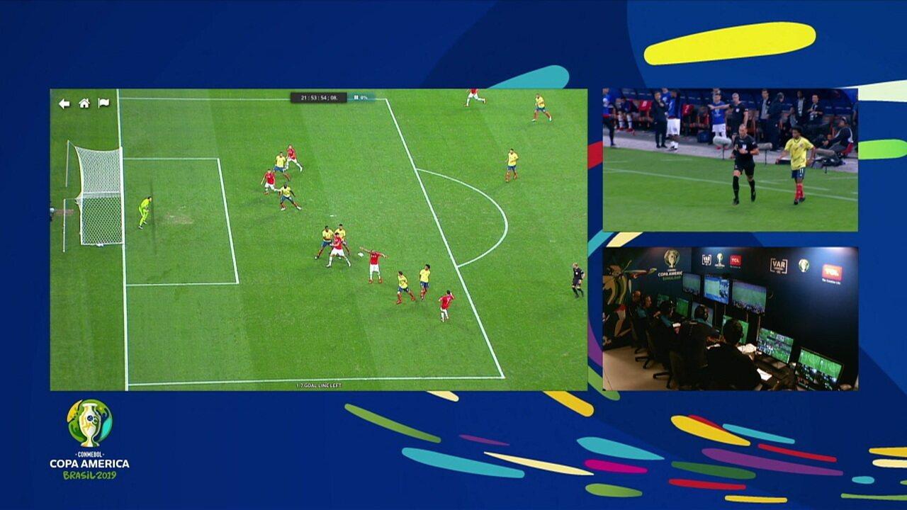 Melhores momentos: Colômbia 0 (4) x (5) 0 Chile pelas quartas de final da Copa América