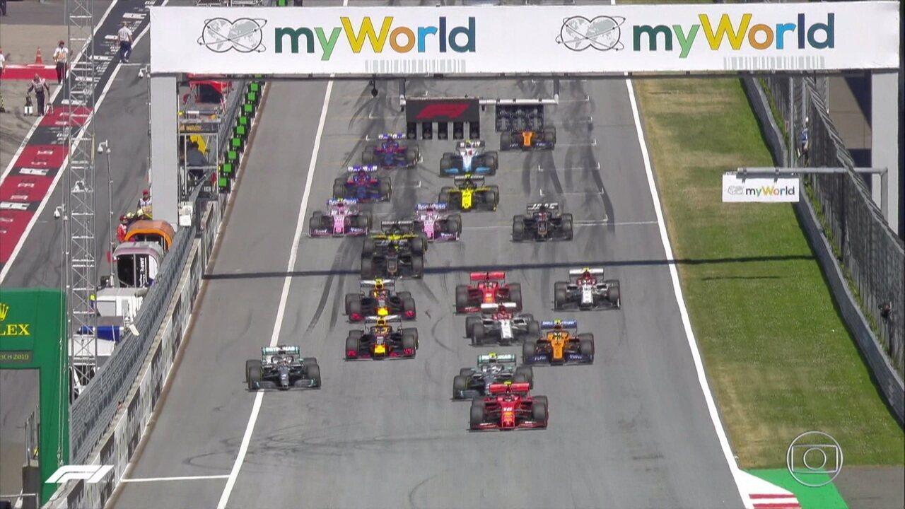 Melhores momentos do GP da Áustria de Fórmula 1