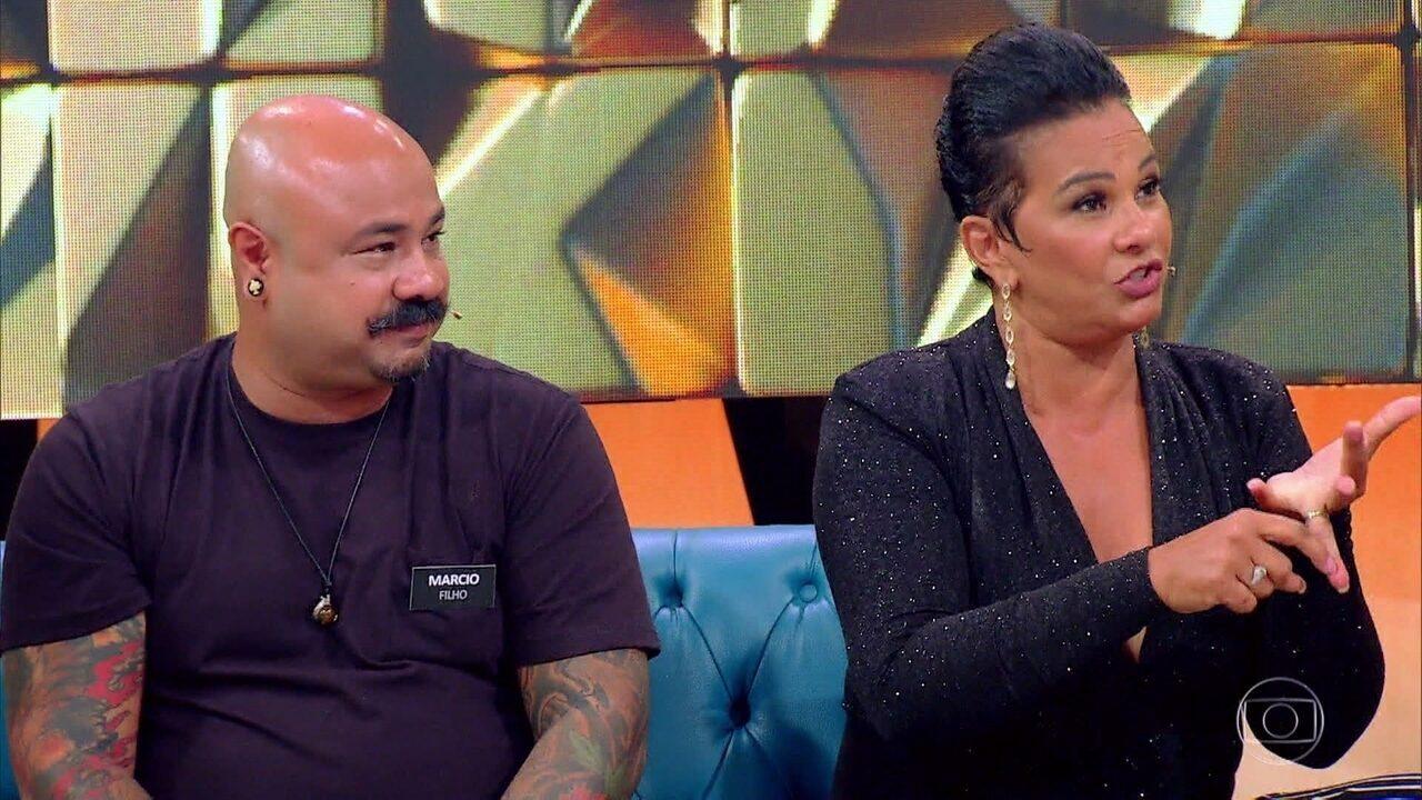 Jamerson saiu de Recife para surpreender Solange Couto no Rio durante o início do namoro