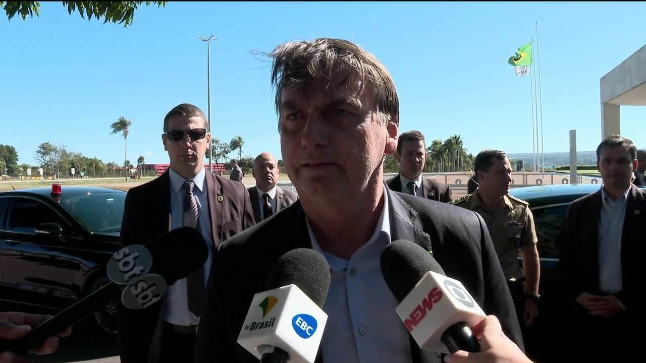 Bolsonaro fala de 'missão cumprida' no G20 e critica militar preso por tráfico internacional