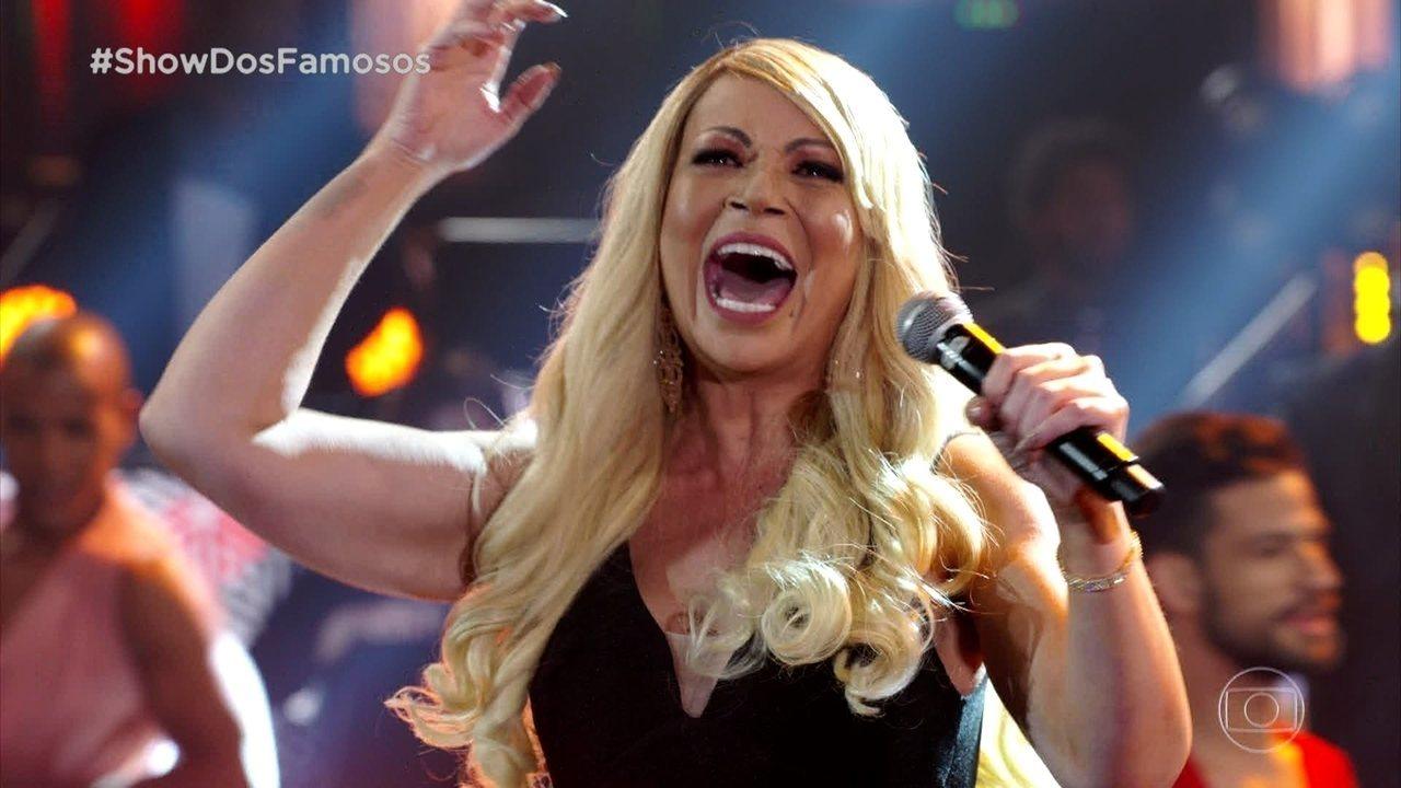 Solange Almeida homenageia Mariah Carey cantando 'Without You'