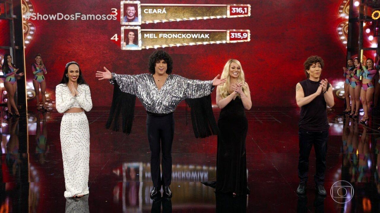Confira quem se classificou para a final do 'Show dos Famosos'