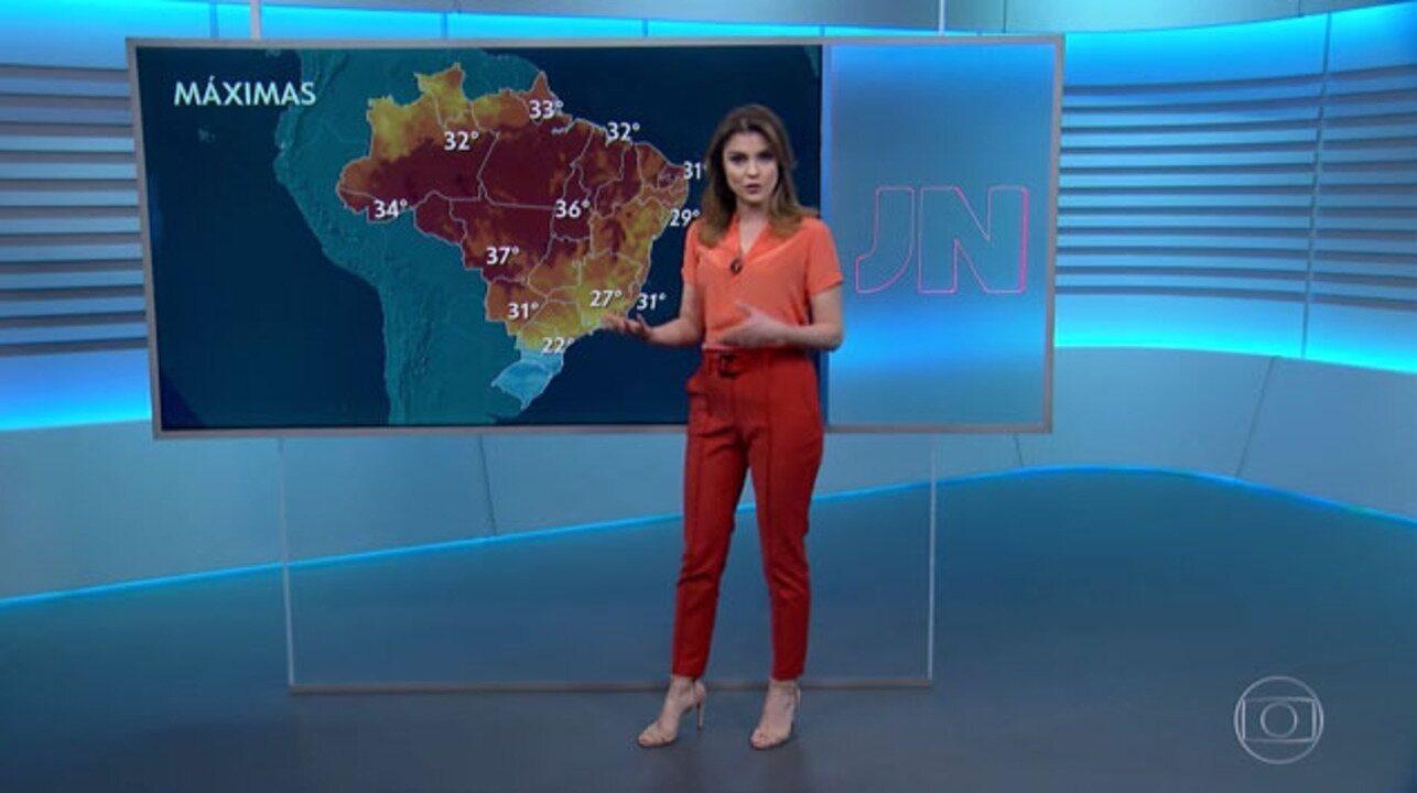 Brasil pode ter a semana mais fria do ano