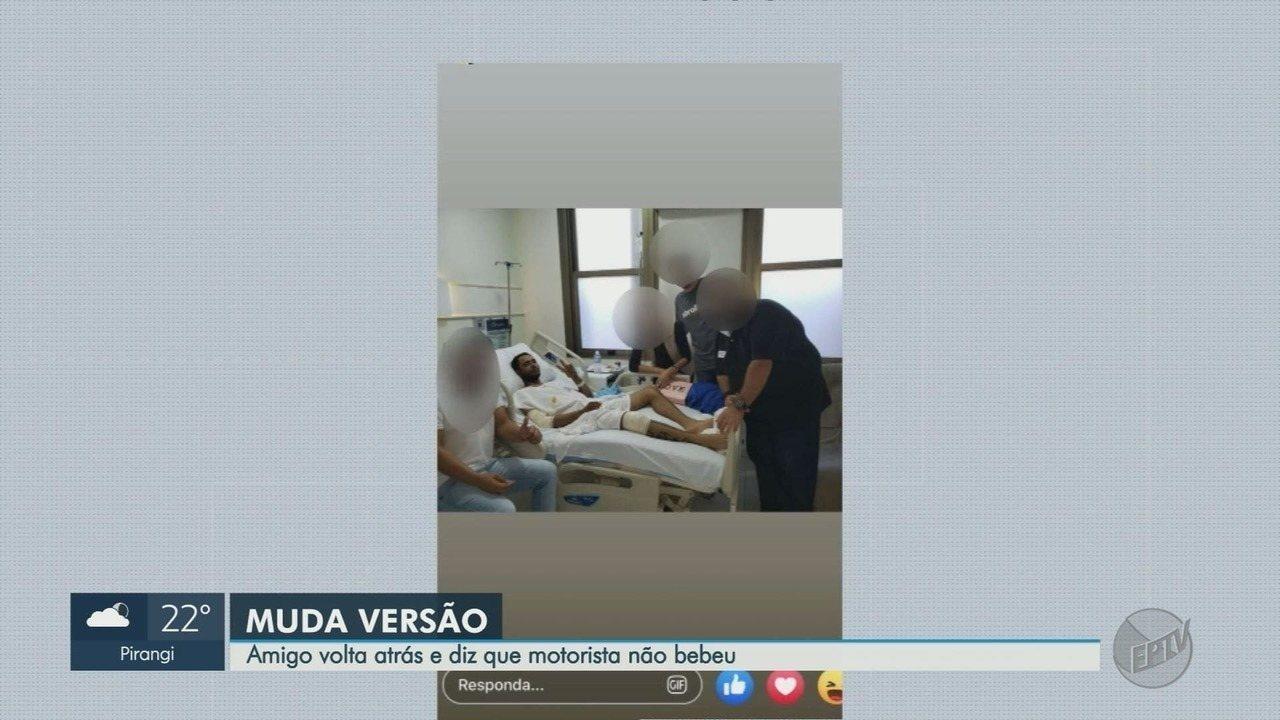 Vítima de acidente em Guará, SP muda versão de depoimento