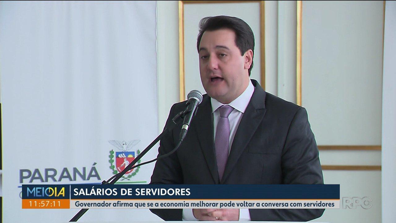 Governador anuncia reajuste de 5,09% para os servidores