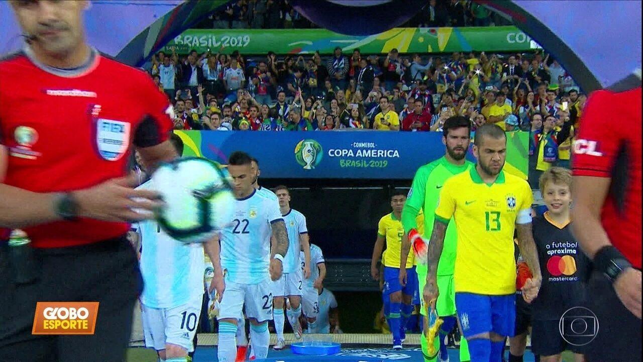 Brasil 2 x 0 Argentina: Seleção de Tite avança para a final da Copa América