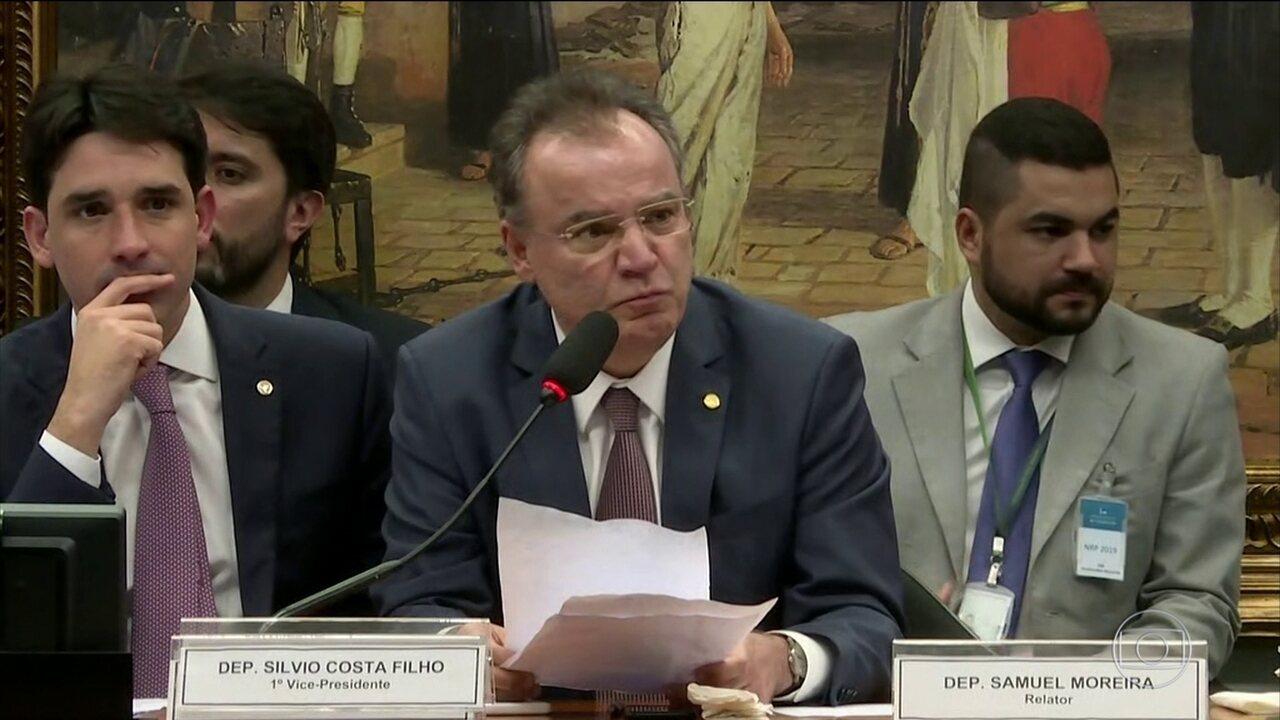 Comissão especial da Câmara aprova parecer do deputado Smauel Moreira (PSDB-SP) da proposta de reforma da Previdência