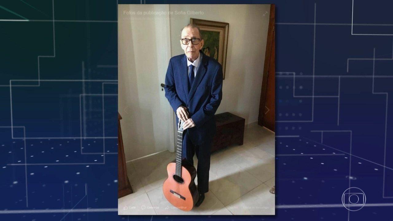 João Gilberto morreu em casa no Leblon, no Rio de Janeiro