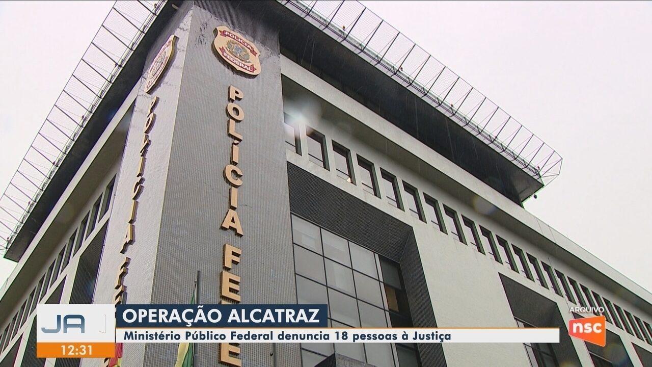 Ministério Público Federal denuncia 18 pessoas à Justiça pela Operação Alcatraz