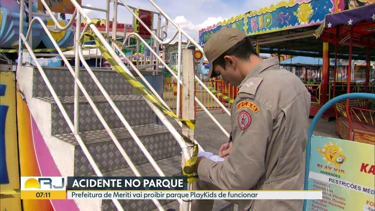 Prefeitura de Meriti não vai mais permitir funcionamento de parque
