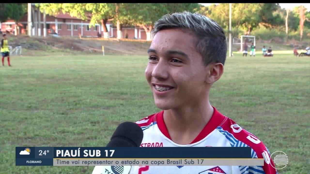 Piauí treina para representar o estado na Copa do Brasil sub-17