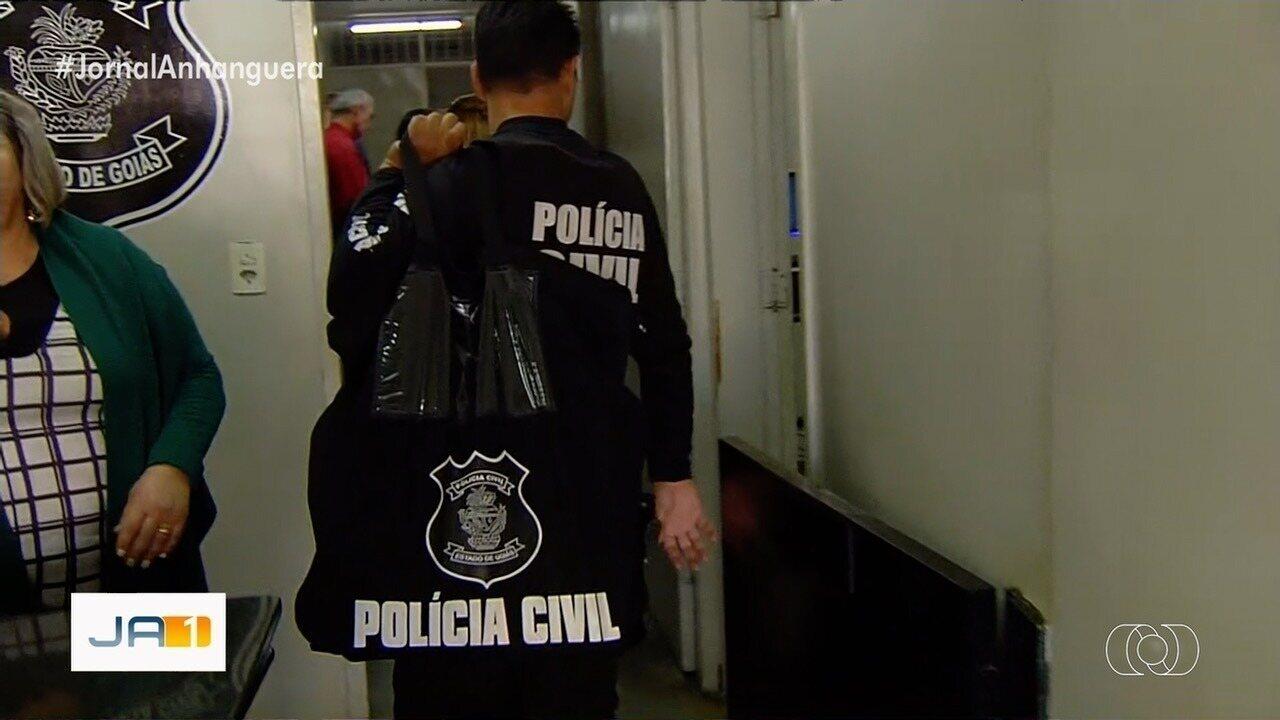 Polícia realiza operação contra fraudes no seguro Dpvat em Goiás