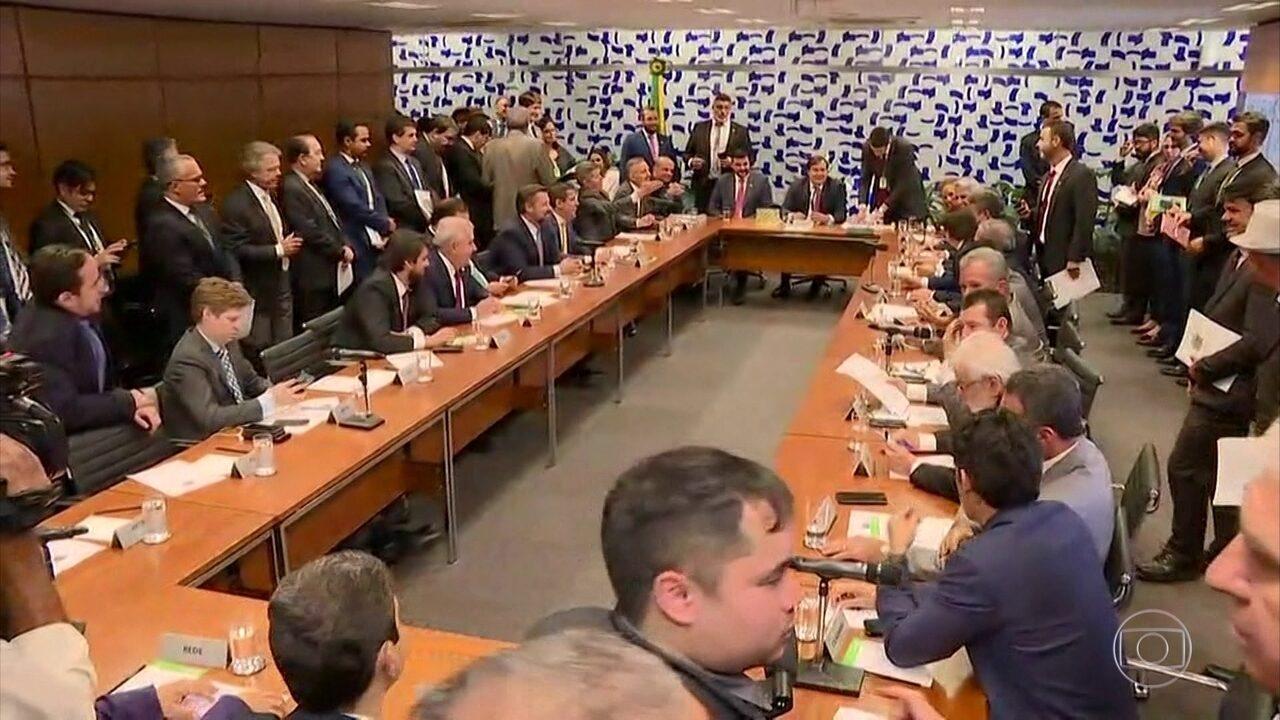 Plenário da Câmara dos Deputados vive expectativa de votar a Reforma da Previdência