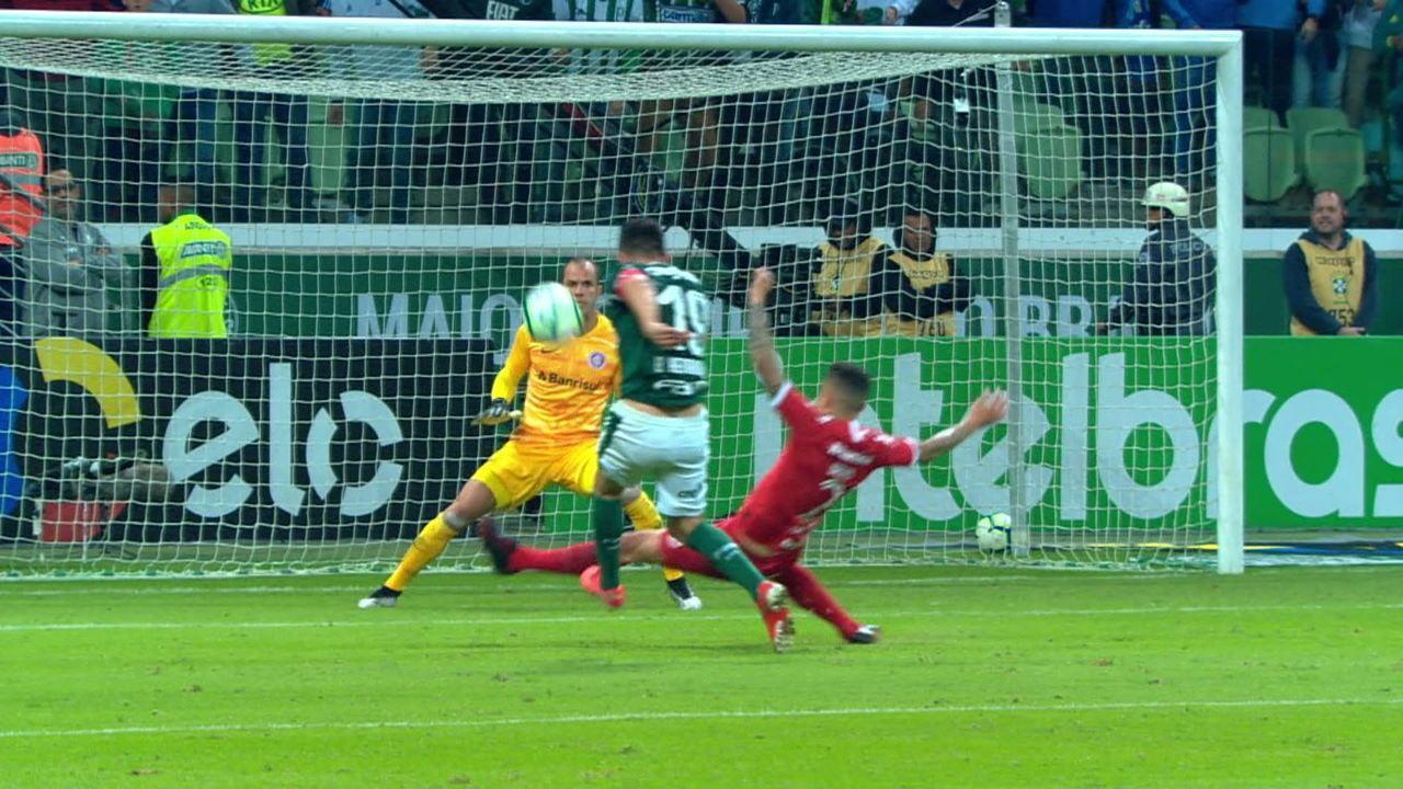 Melhores momentos: Palmeiras 1 x 0 Internacional pelas quartas de final da Copa do Brasil