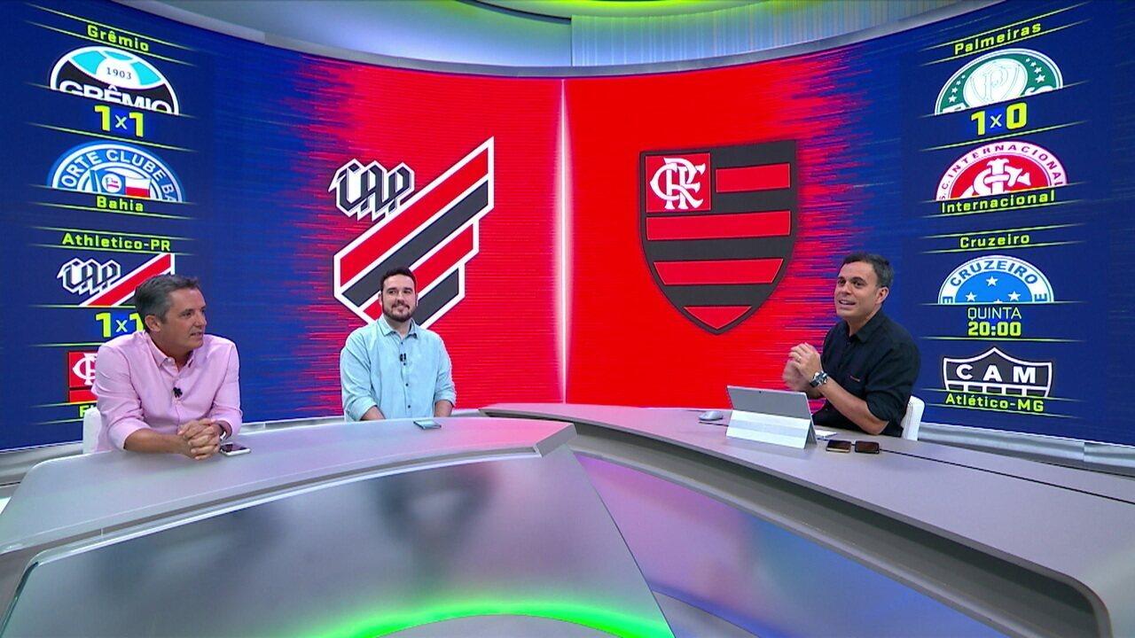 Comentaristas analisam empate entre Athletico-PR e Flamengo pela Copa do Brasil