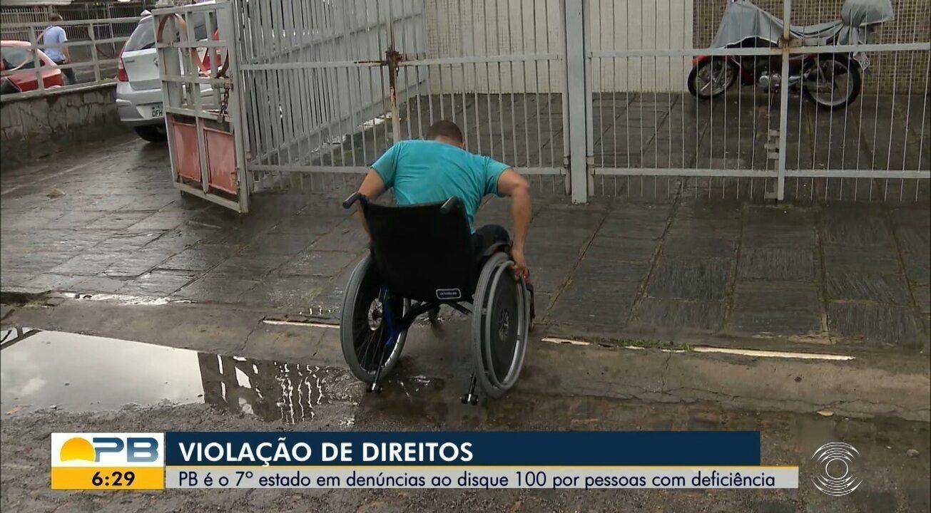 Resultado de imagem para Violação de Direitos; PB é o 7º estado em denúncias feitas por pessoas com deficiência