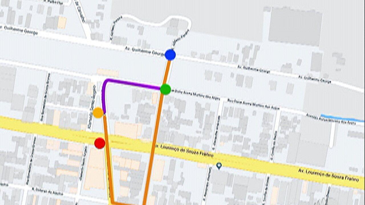 Trânsito ao redor da estação de trem de Jundiapeba em Mogi tem alteração