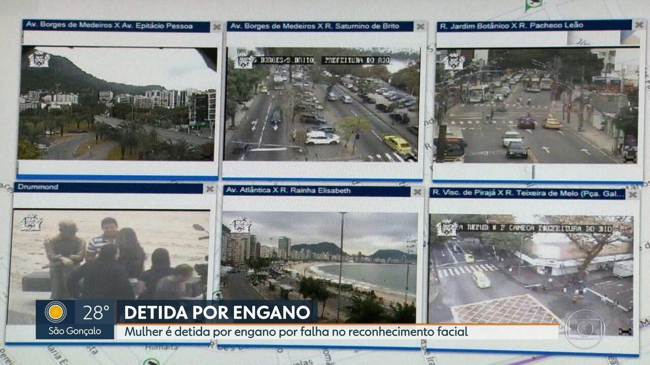Mulher detida por engano por causa de erro em reconhecimento facial no Rio de Janeiro era inocente